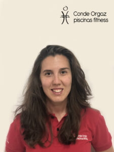 Ángela. Área Piscina + Fitness